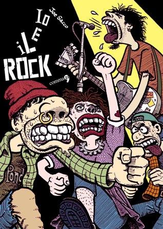 Io e il rock di Joe Sacco